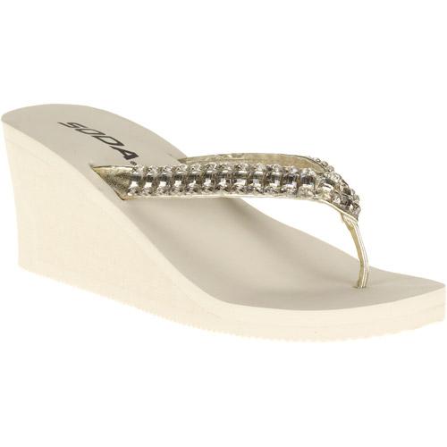 Women's Walta Bling Casual Wedge Sandals