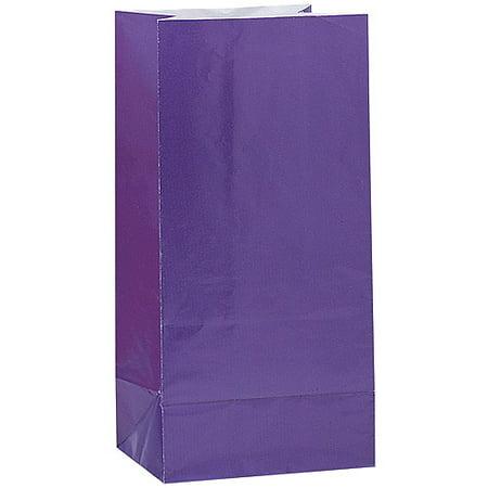 Halloween Luminary Bag Designs (Paper Luminary & Party Bags, Dark Purple,)