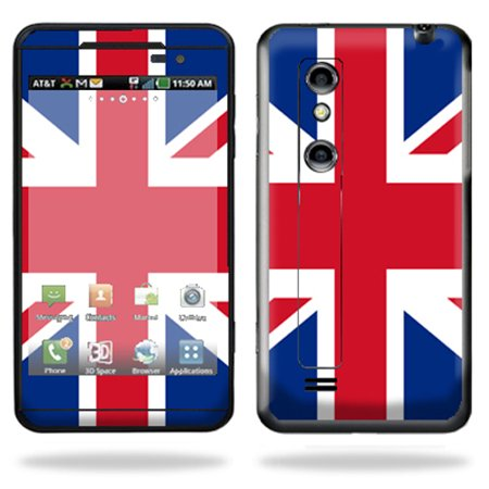 - Mightyskins Protective Vinyl Skin Decal Cover for LG Thrill 4G Cell Phone wrap sticker skins  British Pride
