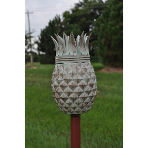 Pineapple Tiki Torch by Starlite Garden and Patio Torche Co.