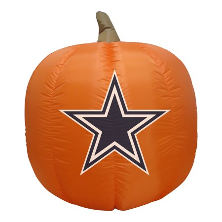 Dallas Cowboys 4' Inflatable Pumpkin - No Size](Dallas Cowboys Inflatable)