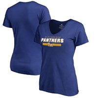 Pitt Panthers Fanatics Branded Women's Team Strong V-Neck T-Shirt - Royal