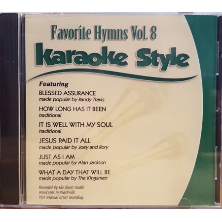 Top New Halloween Songs (Favorite Hymns Volume 8 Daywind Christian Karaoke Style NEW CD+G 6)