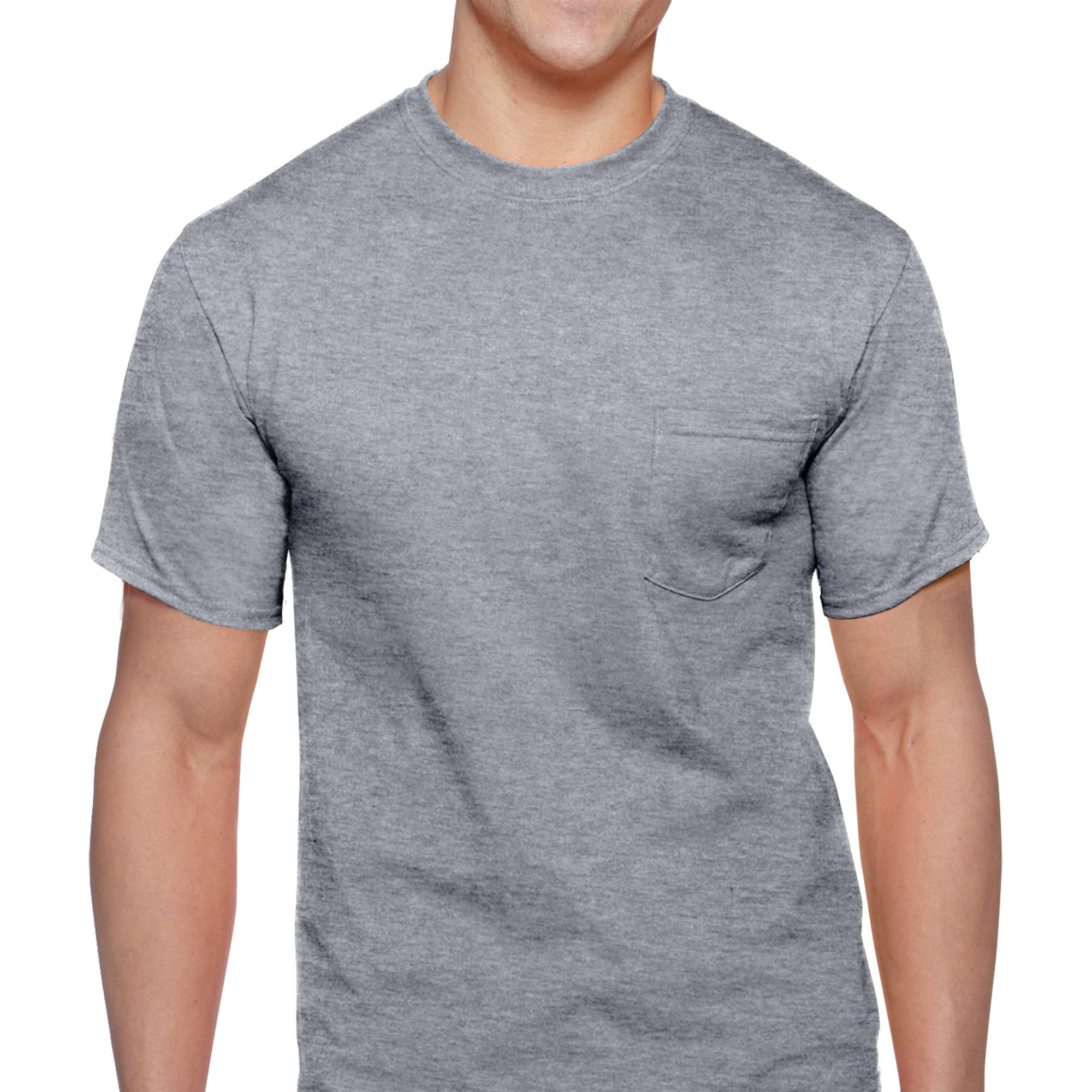Men's Workwear Short Sleeve Pocket Tee, 2-Pack