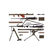 35121 1/35 US Infantry Weapons Set Multi-Colored