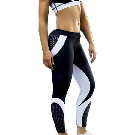 3964f34840 Sexy Dance - Women Activewear High Waist Sport Tights Elastic Push-Up Yoga  Pants Fitness Leggings Running Gym Scrunch Trousers Bottom - Walmart.com