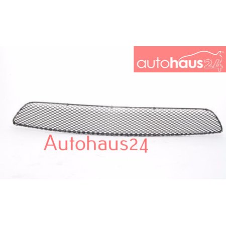 MERCEDES W211 E-CLASS AMG FRONT BUMPER COVER CENTER MESH GRILLE 03-06  GENUINE