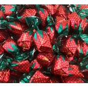 Arcor Strawberry Filled Bon Bons Hard Candy, Sachet Wrap (Pack of 2 Pounds)