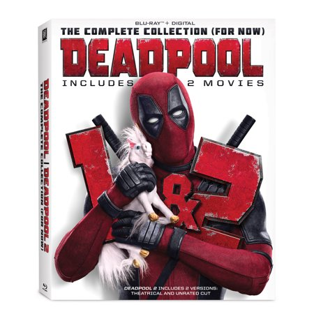 Deadpool: The Complete Collection (For Now) (Blu-ray + Digital) - Deadpool Without The Mask