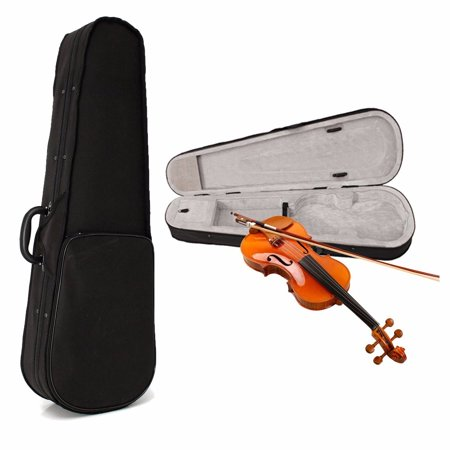 Black Carry Case Backpack Bag Hand Case Protect For 4/4 Violin Full Size Color And Carry Messenger Bag