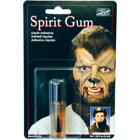 Spirit Gum Carded .125-Ounce Adult Halloween Accessory (Spirit Halloween Veterans)