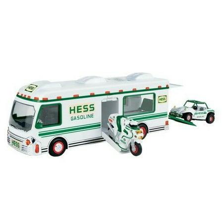 Hess 1998 Truck Recreation Van with Dune Buggy and Motorcycle Volkswagen Dune Buggy