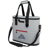 Ozark Trail 30 Can Leaktight Thermocooler with Heat Welded Body, Gray