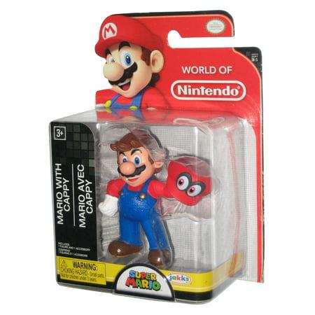 World of Nintendo Super Mario Bros  Odyssey Figure w/ Cappy