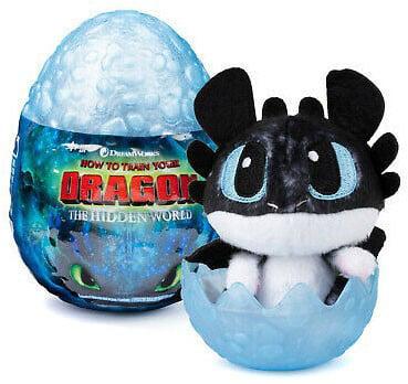 How To Train Your Dragon Hidden World Plush Dragon In Egg