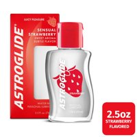 Astroglide Sensual Strawberry Liquid, Water Based Personal Lubricant - 2.5 oz