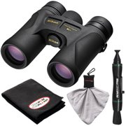 Nikon Prostaff 7S 10x42 ATB Waterproof/Fogproof Binoculars with Case + Cleaning + Accessory Kit