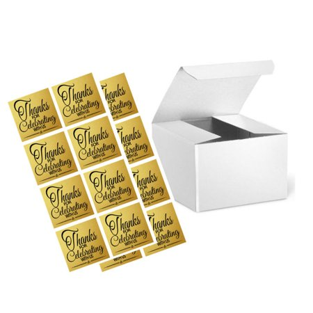 Wedding Gift Box Stickers : ... Wedding Gift Candy & Party Favor Packaging Boxes with Sticker Seals