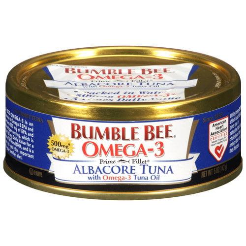 Bumble Bee Omega-3 Albacore Tuna, 5 oz