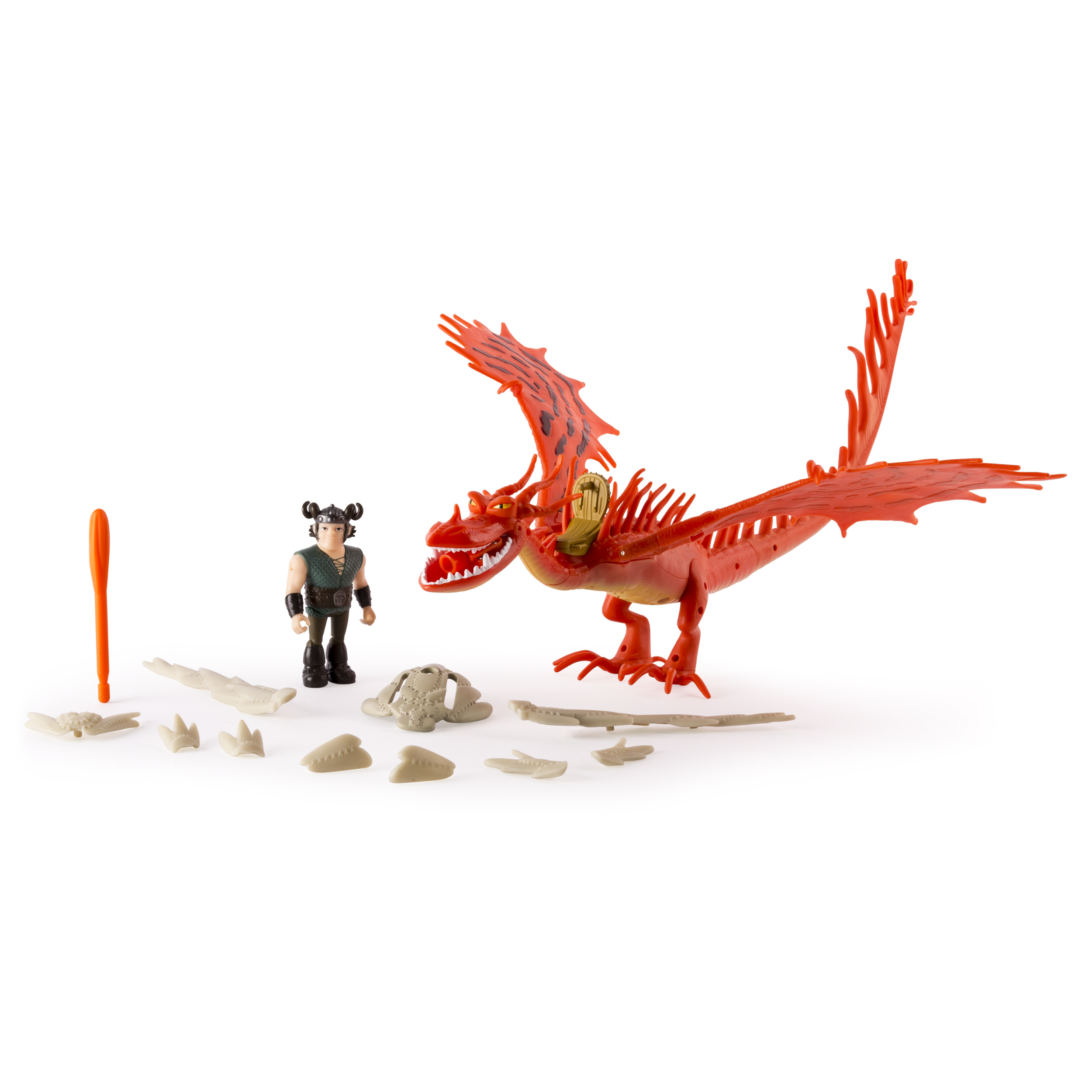 Dragons: Race To The Edge  Hookfang & Snotlout Armored Dragon  Walmart