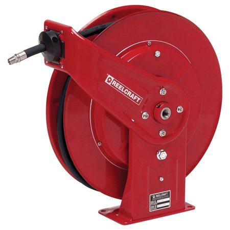 Reelcraft Heavy Duty Grease 3 8 In  Hose Reel   50 Ft