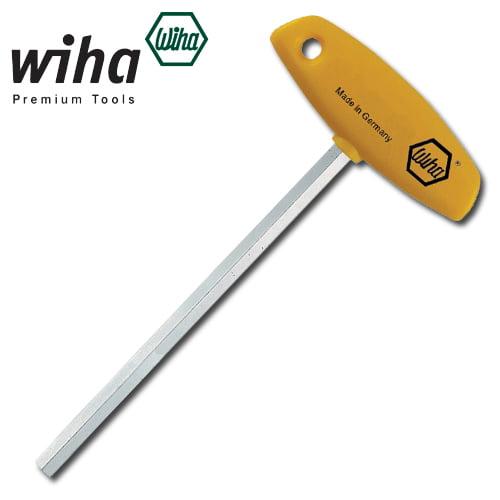 """Wiha Comfort Grip T-Handle Hex 3/16"""" x 6"""" (150mm)"""