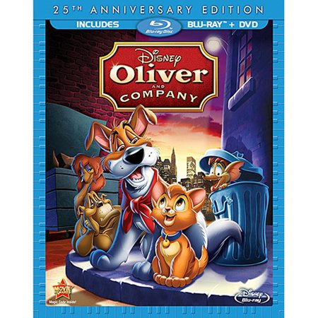 Oliver and Company (25th Anniversary Edition) (Blu-ray + DVD)