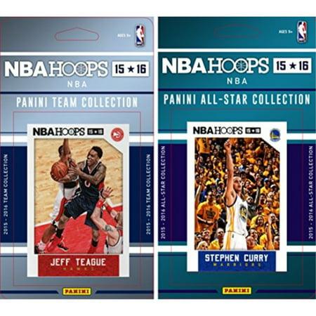 NBA Atlanta Hawks Licensed 2015-16 Hoops Team Plus All-Star Trading Card Set