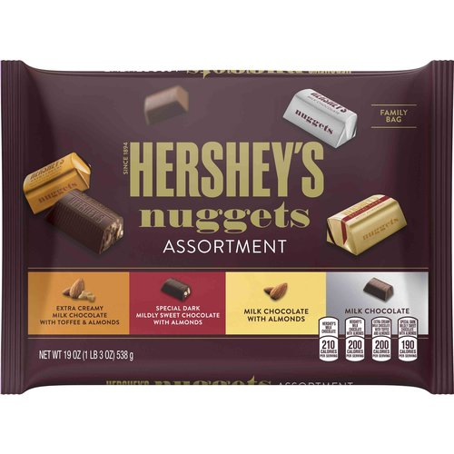 Hershey's Nuggets Chocolate Assortment, 19 oz