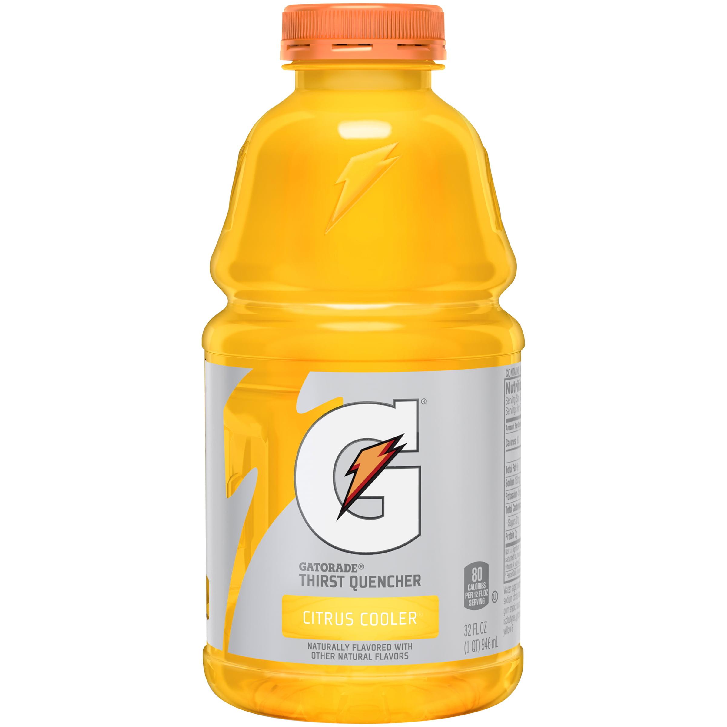 Gatorade Thirst Quencher, Citrus Cooler, 32 fl oz Bottle by The Gatorade Co.