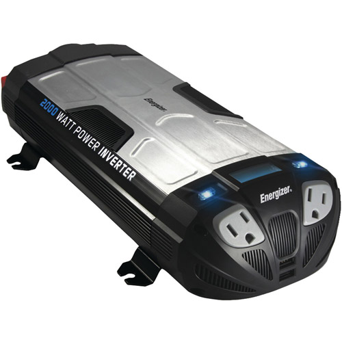 Energizer EN2000 12-Volt 2,000-Watt Power Inverter