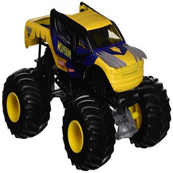 Hot Wheels Monster Jam 1:24 Die-Cast Wolverine Vehicle by