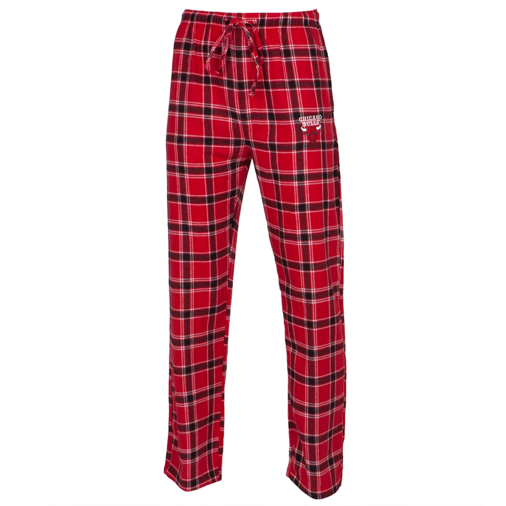 Chicago Bulls - Logo Plaid Lounge Pants