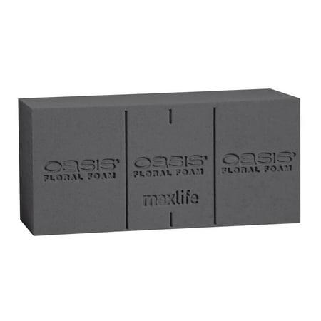 OASIS Midnight Floral Foam Deluxe Brick - 3 X 4 X 9