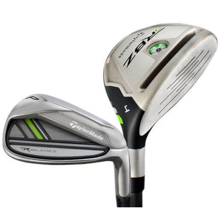 Taylormade Rocketbladez 2.0 Combo Hybrid-Iron Golf Club Set (4H, 5H, 6-PW, Graphite/Steel Shaft, Regular Flex, Right Handed)