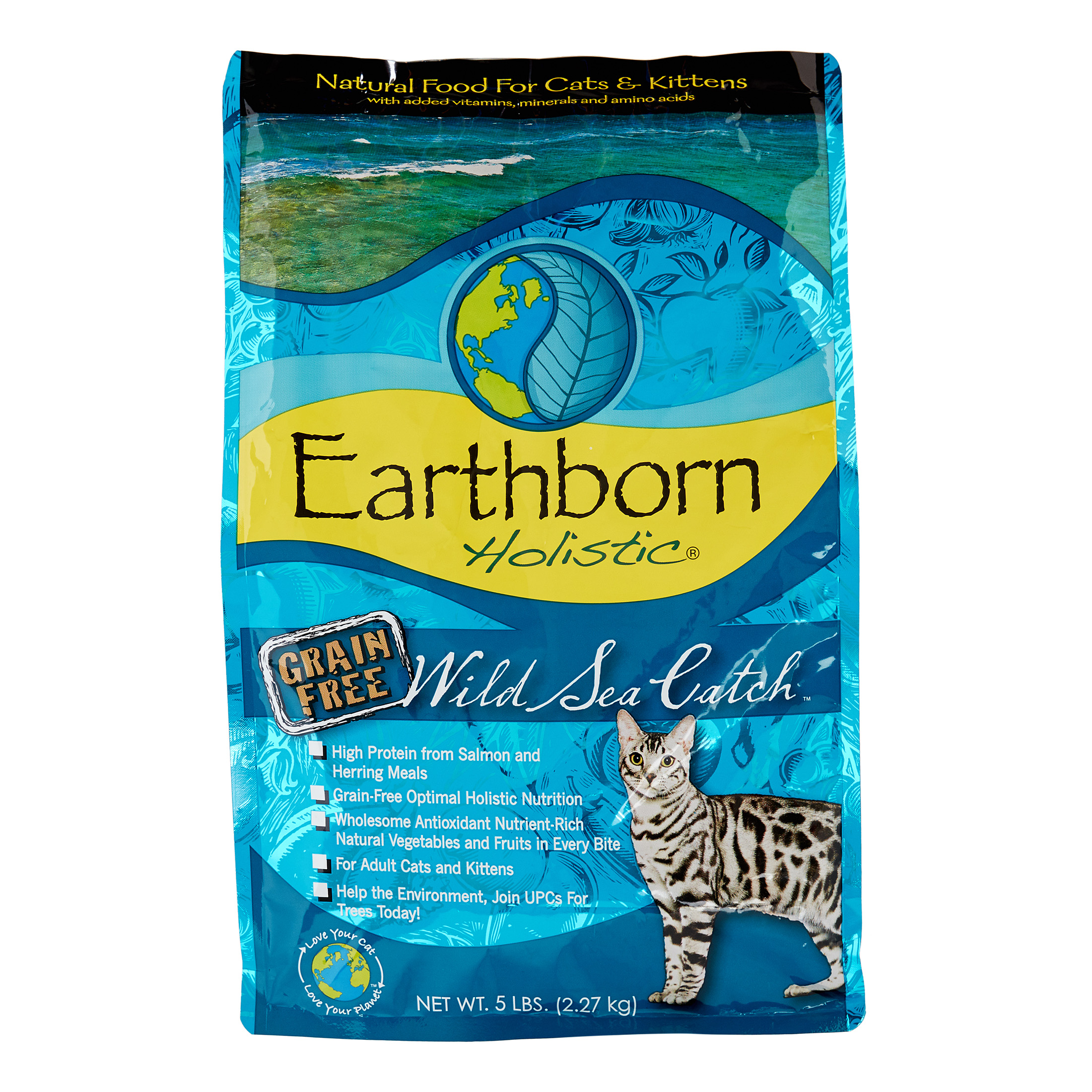 Earthborn Holistic Coastal Catch Grain Free Natural Dry Dog Food