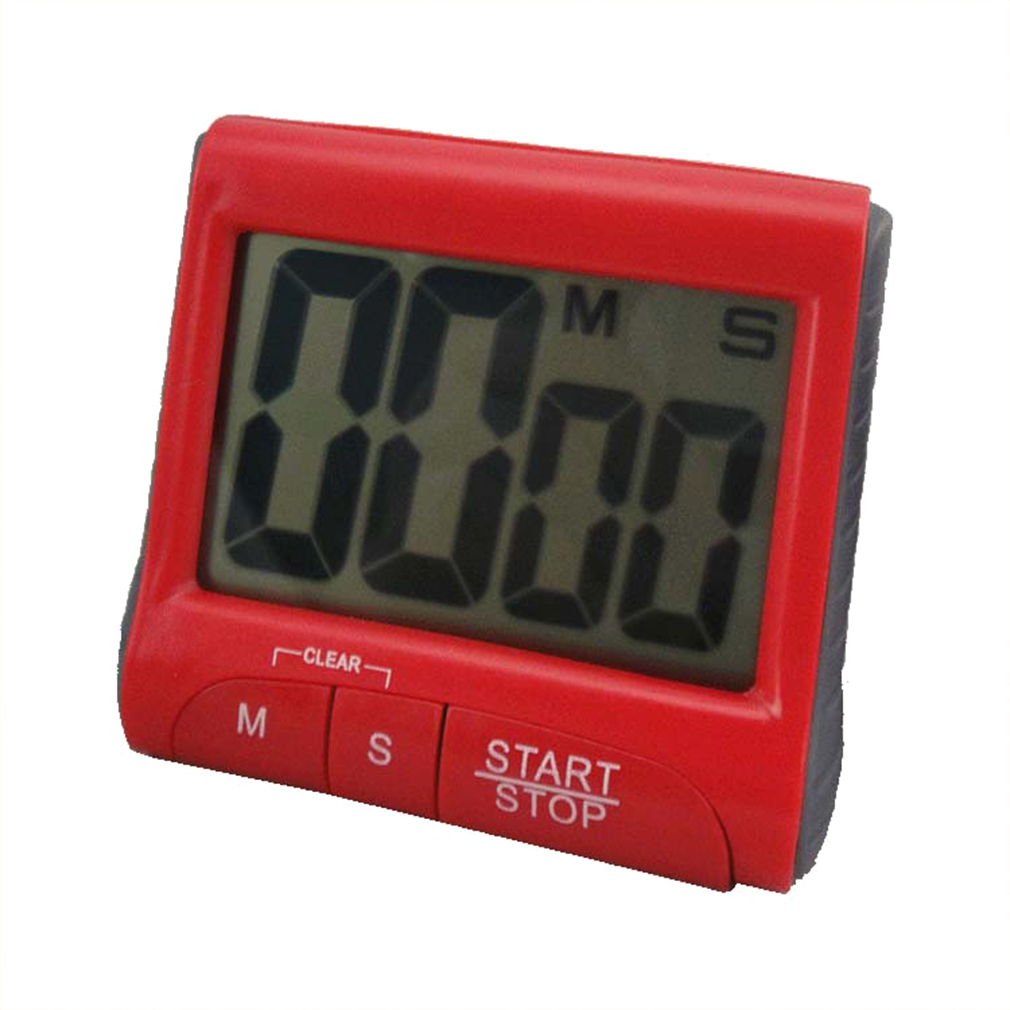 Super Deal Large LCD Digital Kitchen Timer Count-Down Up Clock Loud Alarm Up to 99 Minutes And 59 Seconds