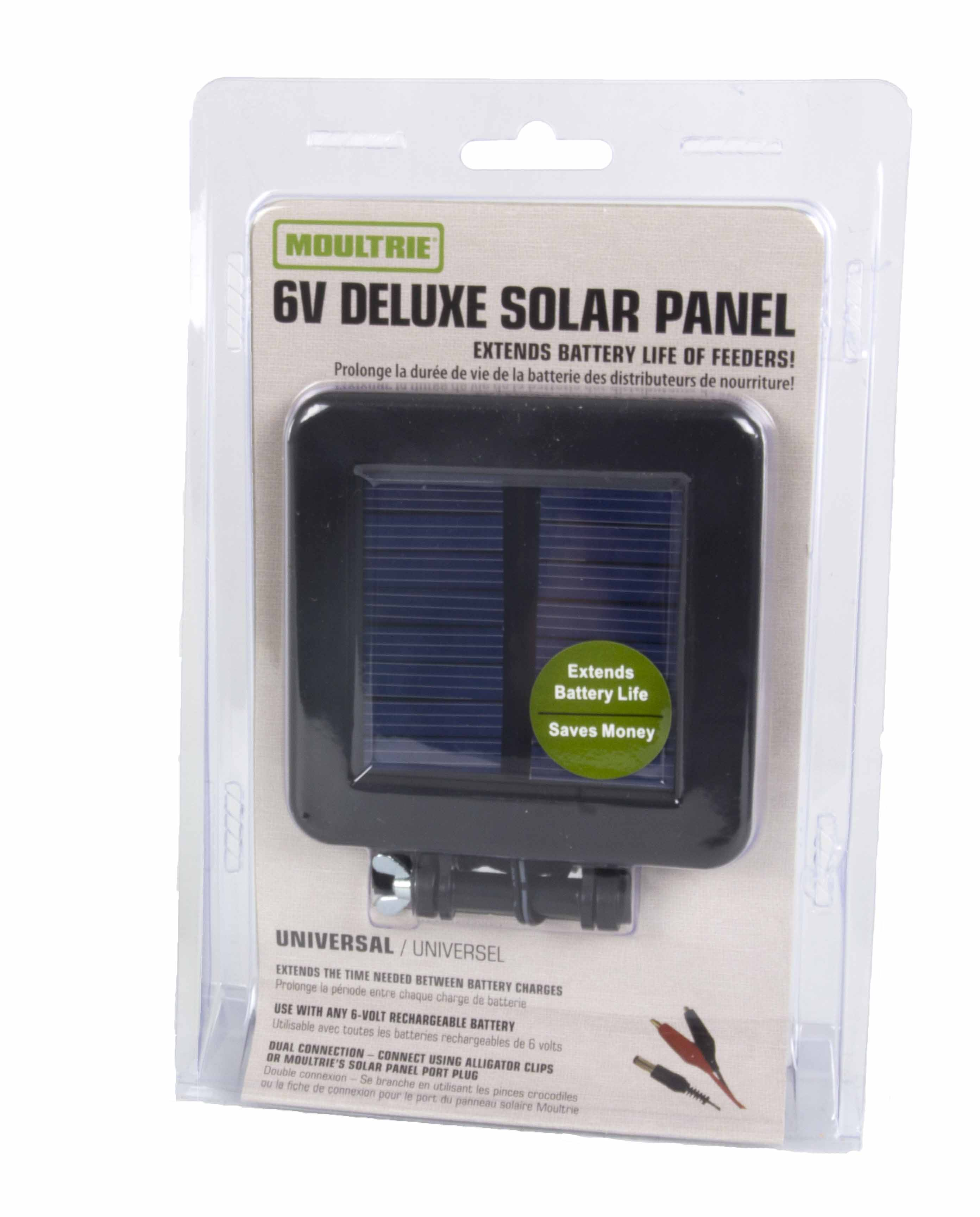 New Moultrie Game Camera 6 Volt Deluxe Solar Power Panel W 6v Circuit Diagram Mounting Bracket