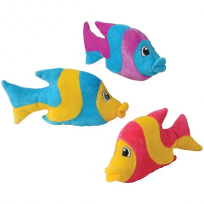 USToy sb647X4 Bright Striped Fish - 12 per Pack - Pack of 4