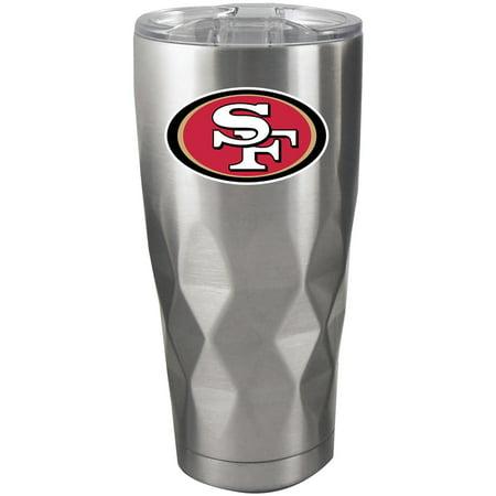 c784e669 San Francisco 49ers 22oz. Diamond Bottom Stainless Steel Tumbler - No Size