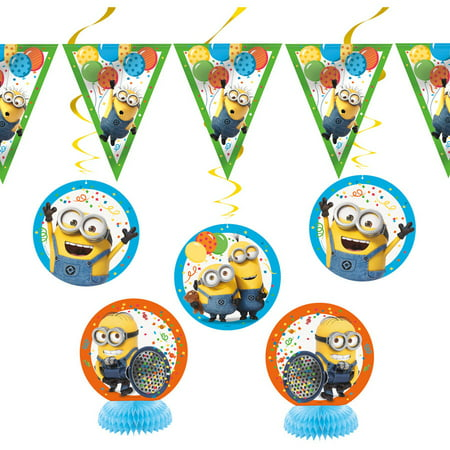 Despicable Me Minions Decorating Kit, - Minions 1st Birthday