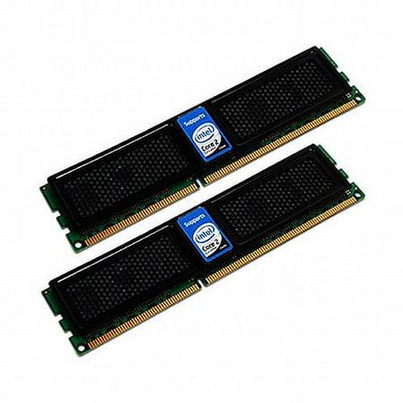 OCZ Intel Extreme Edition XMP Ready Series Dual Channel Kit - DDR3 - 4 GB: 2 x 2 GB - DIMM 240-pin - 1600 MHz / PC3-12800 - CL9 - 1.9 V - unbuffered - non-ECC 1600 Mhz Dual Channel