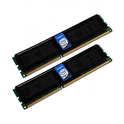 OCZ Intel Extreme Edition XMP Ready Series Dual Channel Kit - DDR3 - 4 GB: 2 x 2 GB - DIMM 240-pin - 1600 MHz / PC3-12800 - CL9 - 1.9 V - unbuffered - non-ECC