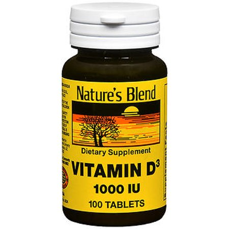 Nature S Blend Vitamin D  Iu Tablets