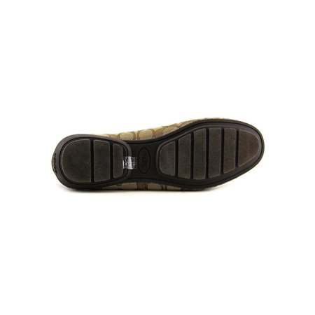 Coach Lady Shoes (Coach Womens Odette Leather Square Toe Loafers)