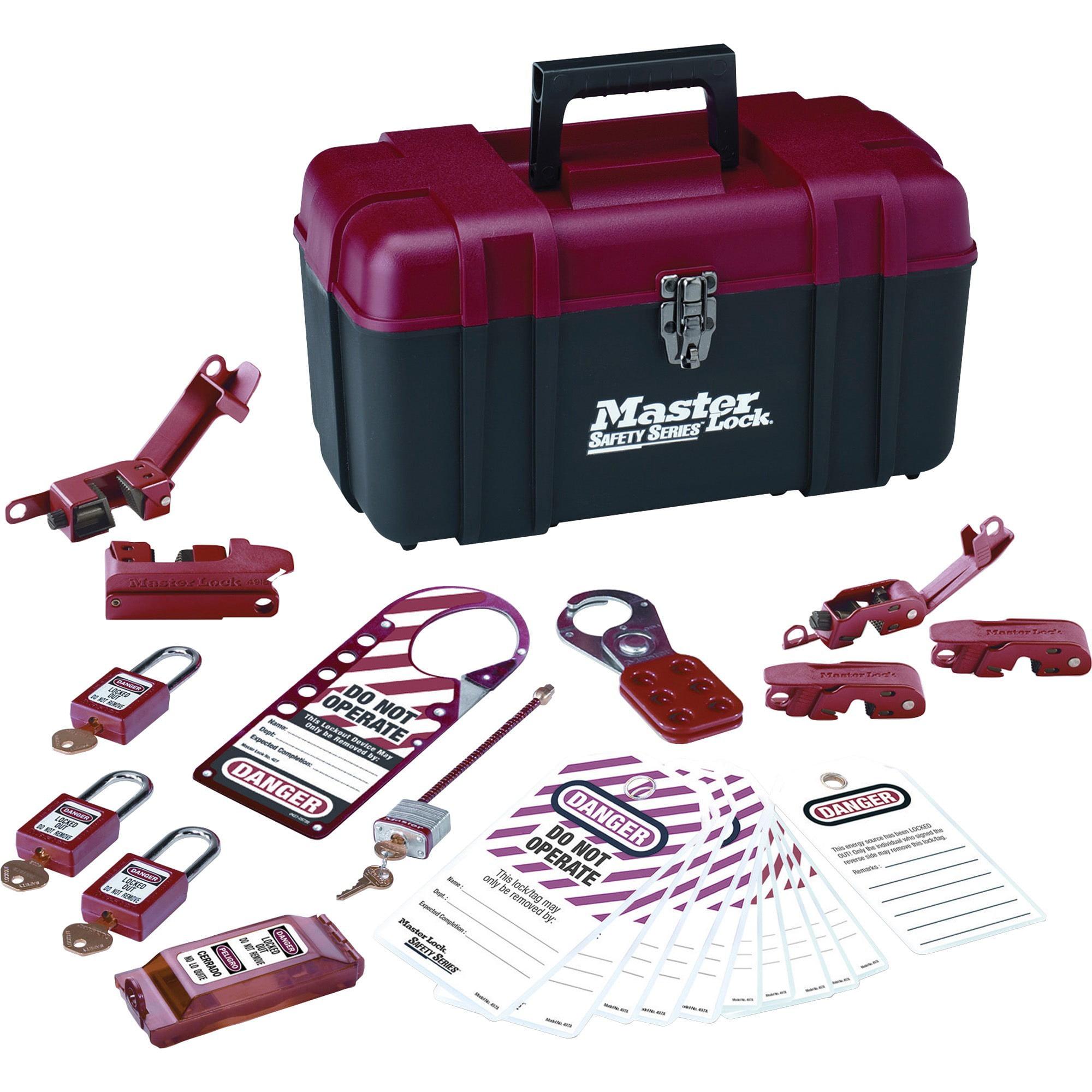 Master Lock, MLK1457E410KA, Electrical Lockout Kit, 1 Each