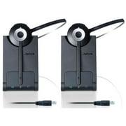 Jabra PRO 930 UC Mono Wireless Headset w/ Noise-Canceling Microphone (2 Pack)