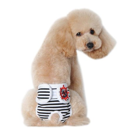 Cute Pet Dog Panty In Season Sanitary Pants For Female - Cube Dog