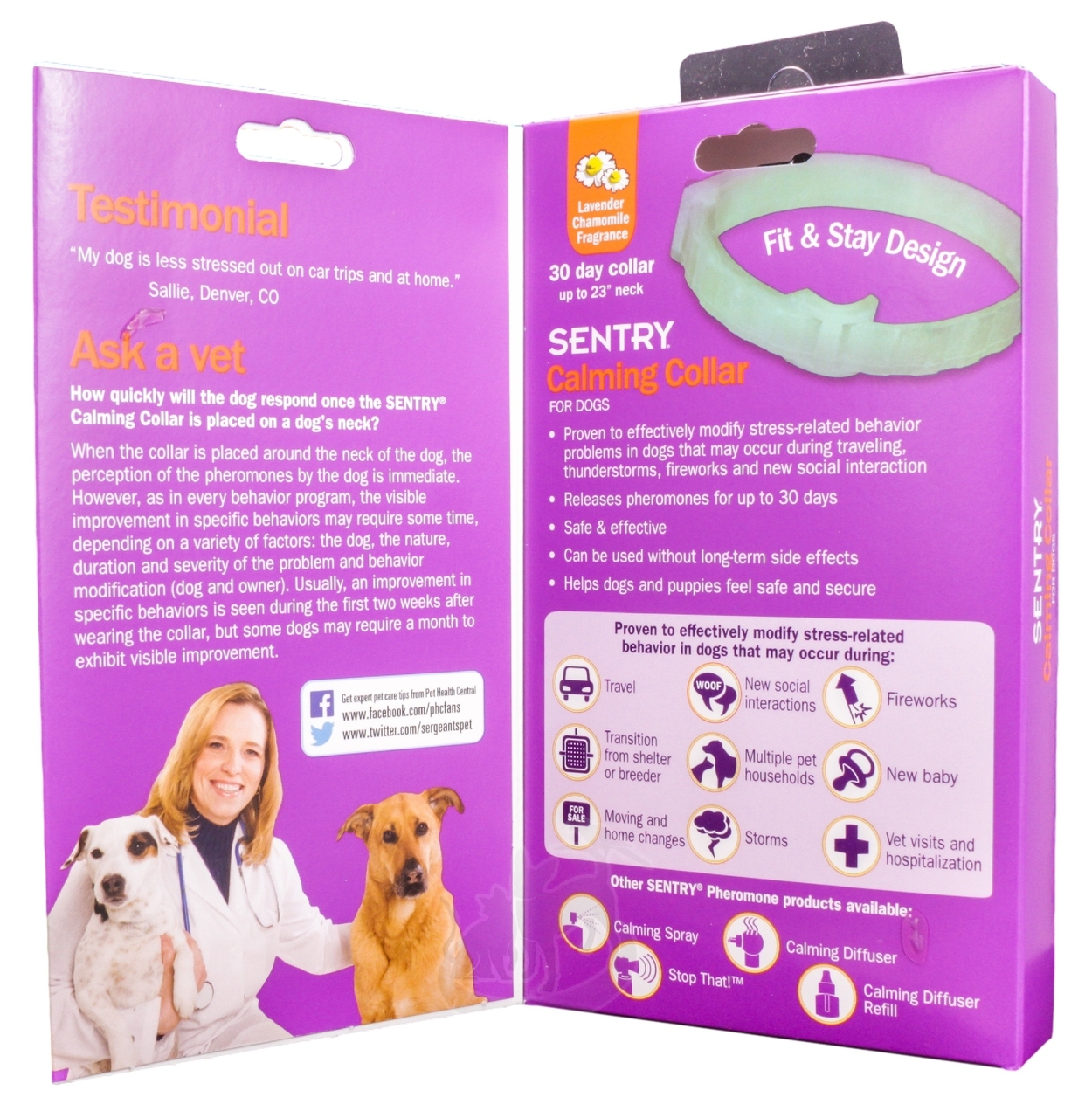 dog calming collar side effects