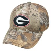 "Georgia Bulldogs NCAA Top of the World ""Xtra"" RealTree Camo Memory Fit Hat"
